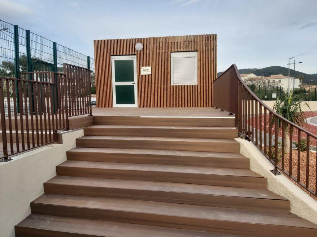 bungalow sanitaire Marseille Toulon