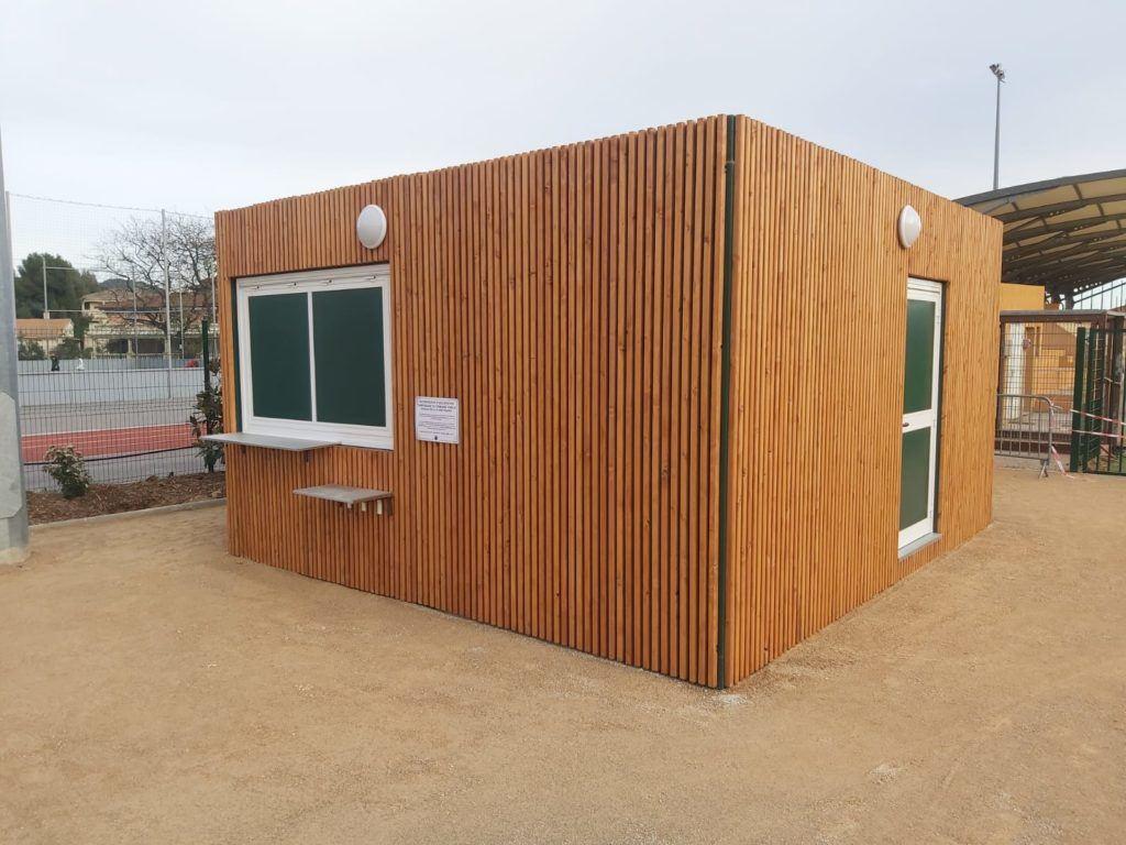 bungalow sanitaire Aix en Provence Marseille